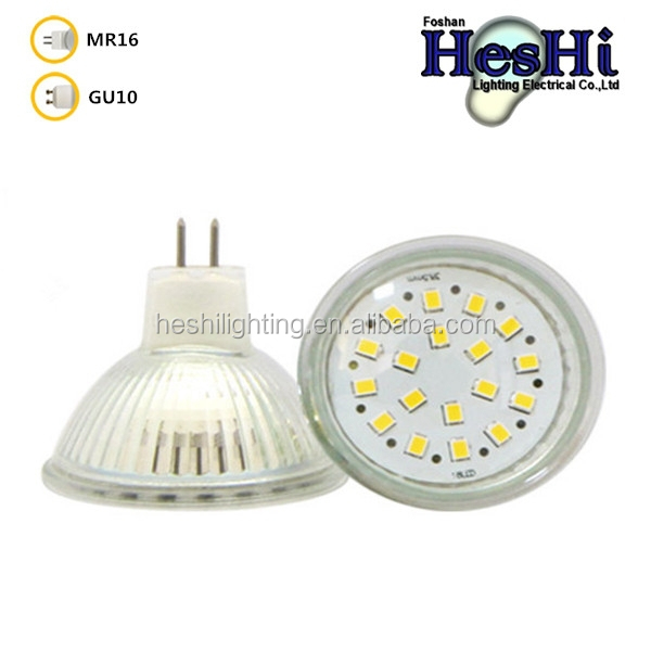 MR16 GU10 3.5W LED 21X2835 SMD 220V Spot Light Warm White 3000K 6000K Bulb Lamp