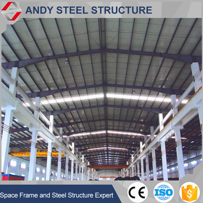 good quality steel frame fabricated warehouse