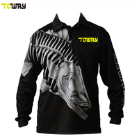 wholesale long sleeve tournament fishing shirts