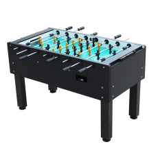 2017 model heavy duty pub size 5 feet soccer foosball table with 8 free soccer balls