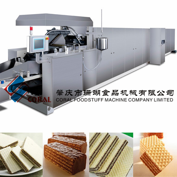 High-quality wafer biscuit bakery oven/Wafer manufacturing machinary