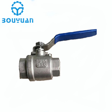 "2pc Full Port Ball Valve SS 304 BSP 1/4"" 3/8"" 1/2"" 3/4"" 1"" 1-1/4"" 1-1/2""Female Threaded Stainless Steel Ball Valve"