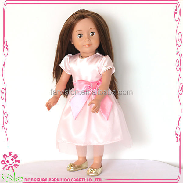 Fashion 18 inch doll clothes patterns,doll clothes packaging