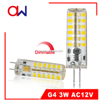 LED bulb lights 3W dimmable 12V G4 led bulb