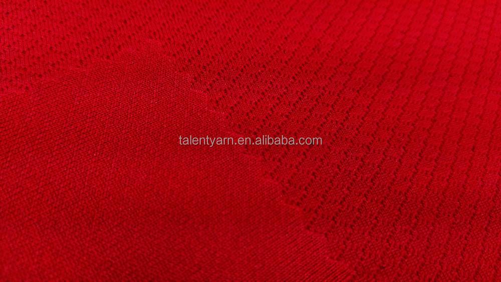 Permanent Anti-Bacterial Polyester Knit Active Wear Fabric (TA-039)