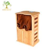 New style good-looking wood types infrared dry foot sauna