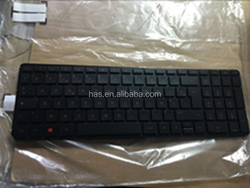 Hot Keyboard For HP 15-P032AX 15-P074TX 15-P075TX 15-P076 Black FR Keyboard Used in Laptop