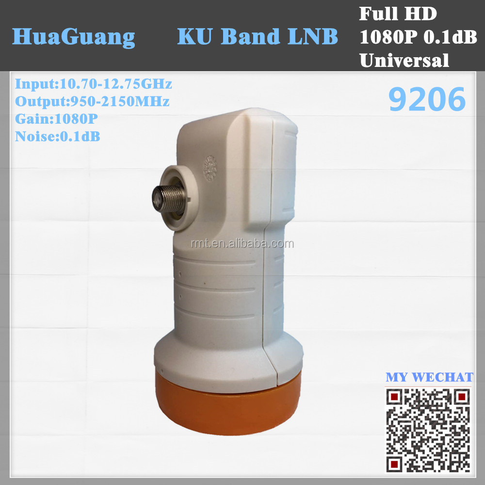 Star sat universal HD low noise 4K KU antenna 9206 for middle eastU band single lnbf lnb for <strong>satellite</strong>