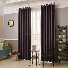 customized 3 pass fire retardant blackout window curtain fabric for hotel
