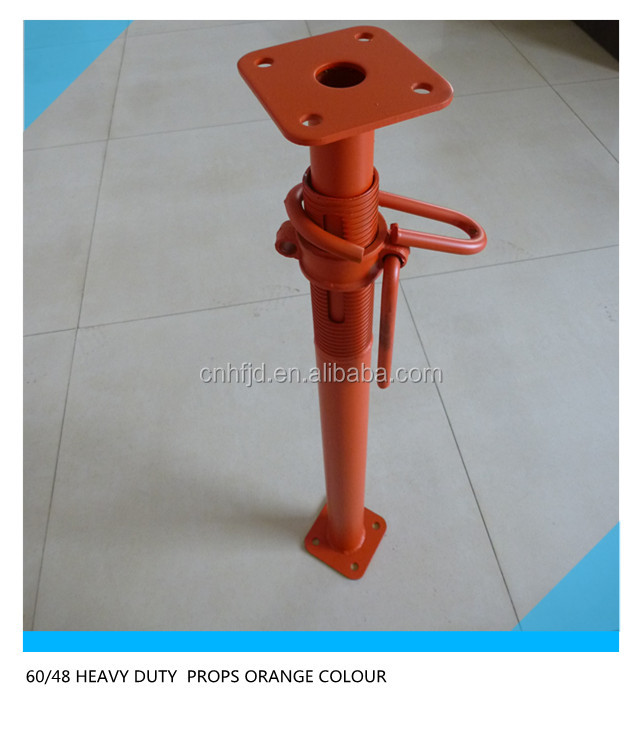adjustable steel telescopic sleeve shoring props