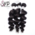 Loose Wave Belle Virgin Hair, Best Brazillian Grade 8A Bundles Hair Weave Weaving