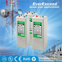 EverExceed 2V 700AH AGM OPzV solar dry cell battery