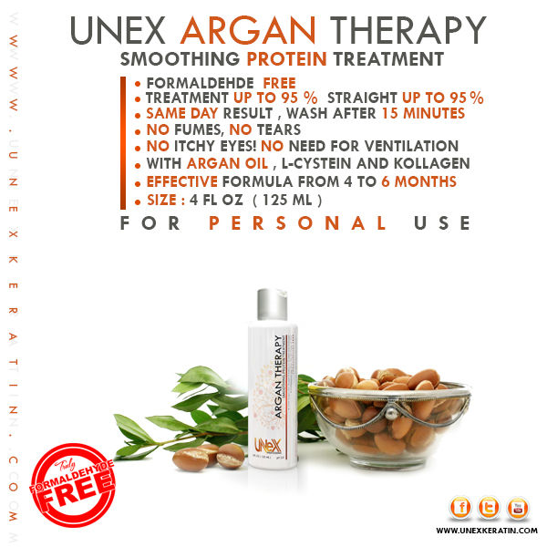 UNEX Argan Protein Therapy 125 ml