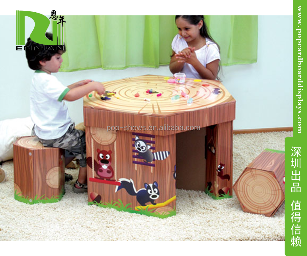 schoolwork the around pin cardboard do to is giving children place world a desk