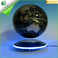 7 colors lighting free floation UFO display 6'' magnetic levitation ball