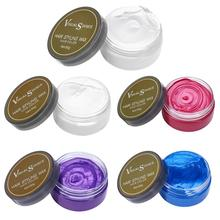 5 Colors Hair Color Wax Disposable Hairstyle Styling Modeling Hair Coloring Wax Hair Dye Cream