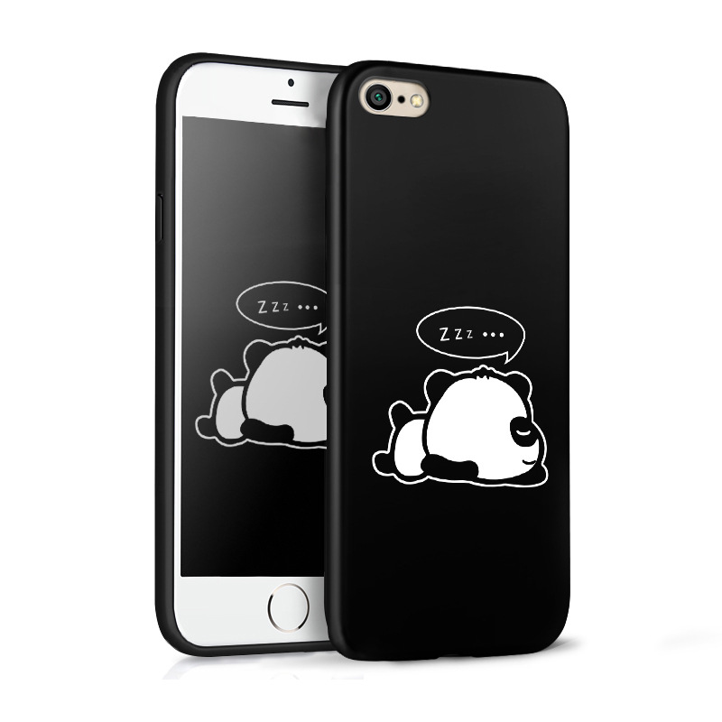Manufacturer low price sales silicone painted animal mobile phone case for iphone 10 / 8p / 8 / 6p / X