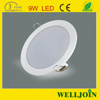 Ultra Thin 9 Watt Recessed Led Downlight With 120mm Cut Out