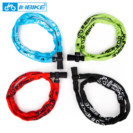 INBIKE 100CM Steel Bicycle Chain Lock for Child's Bicycle