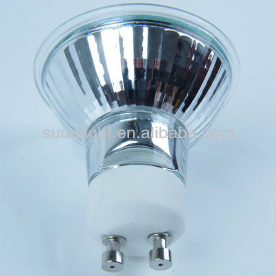 Low energy dichroic halogen lamp GU10 220v 50w