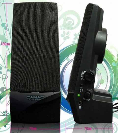 PC 2.0 Speaker brands ** CMK-858-2 AC / USB ** Low price 2.0 multimedia speaker for laptop