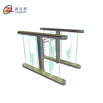 304 stainless steel RFID access remote control system security and automatic glass new style speed barriers gate