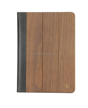 High quality wallet bamboo wood case for Ipad Air 2 good price