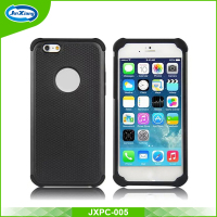 new shockproof slim armor shock absorber back cover case for iphone 6