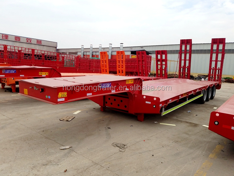 Heavy duty 3 Axle 40 Ton oilfield trailer for sale