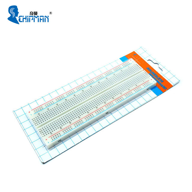 Chipman high quality 830 <strong>holes</strong> solderless breadboard for arduinos