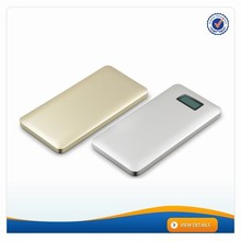AWC238 portable external power bank 9800mah polymer battery pack rohs power bank 10000mah
