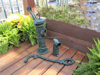2014 Professional Cast Iron Garden Hand operated water pumps for garden