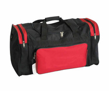 Outdoor sport gym polyester duffel one day travel bag, oxford fabric duffle weekender overnight voyage hold all travel bag