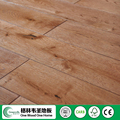 Hot sale Russian Oak 125mm Stained Brushed solid wood flooring