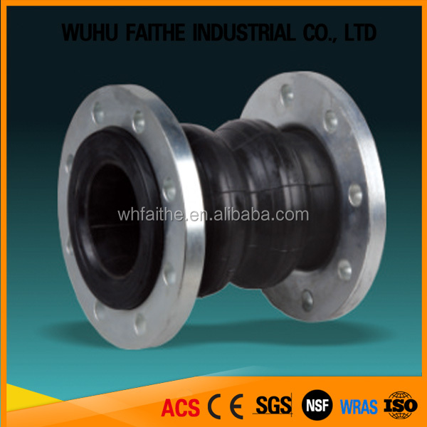 DIN AWWA Double sphere rubber expansion Joint DN125