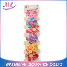 New selling special design kids ponytail holders hair accessories from manufacturer