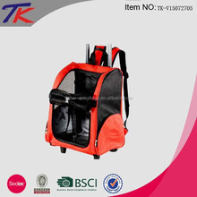 Best Selling Quality Trolley Pet Carrier Backpack for Dogs