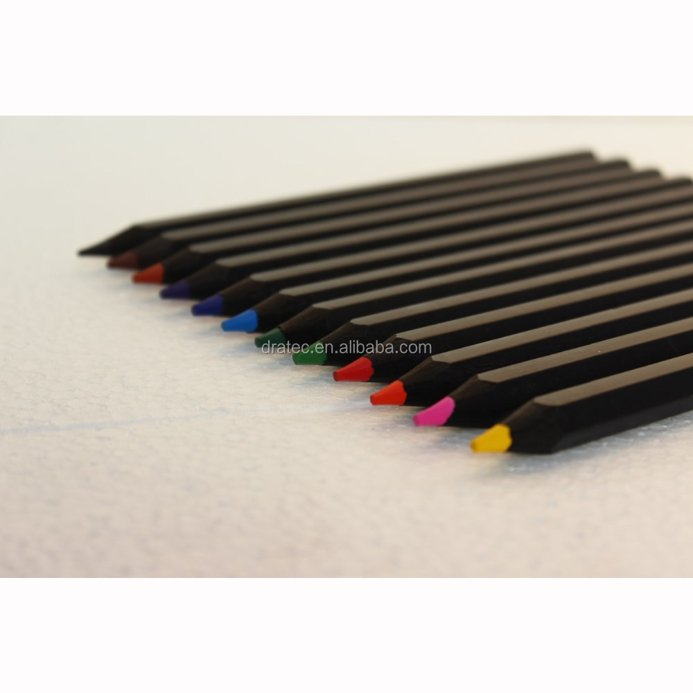 Jumbo size twin color pencils, blackwood twin color pencils