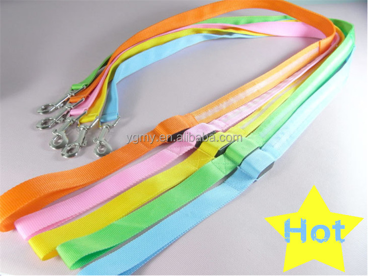 LED Pet Cat Dog LED Leash Safety Glow Leash Flashing Lighting Up Good Quality Not the Cheaper One Dog Leash