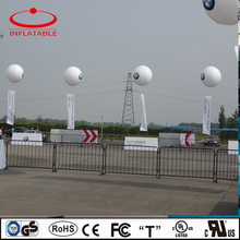 inflatable sphere helium sky balloon, advertising inflatable logo printing floating balloon