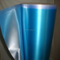 Fashionable And Hot Selling PVC Matte Blue Metallized Plastic Decorative Film