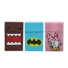 Flexible and Durable Flame resistant Silicone Cigarette Case, Printing Cigarette Packing Box