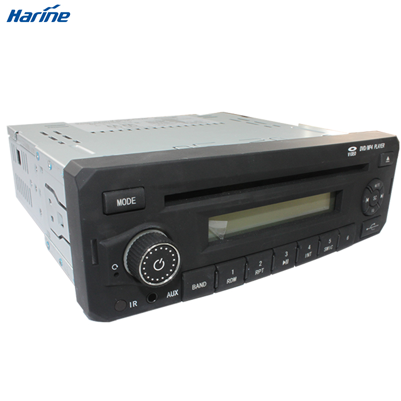 Car audio DVD Player RDS CD MP3 MP4 PLAYER with Microphone input for Bus Truck