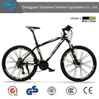 2015 new product 27 speed aluminum alloy mountain bike light weight 13 kg cheap pit bike