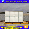 Hot sale in Nigeria grp 300m3 water tank/ frp large water tank from China