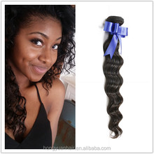Factory Direct Supply Brazilian Hair Remy Loose Curl Weave