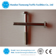Zinc plating DIN933 good quality hex bolt