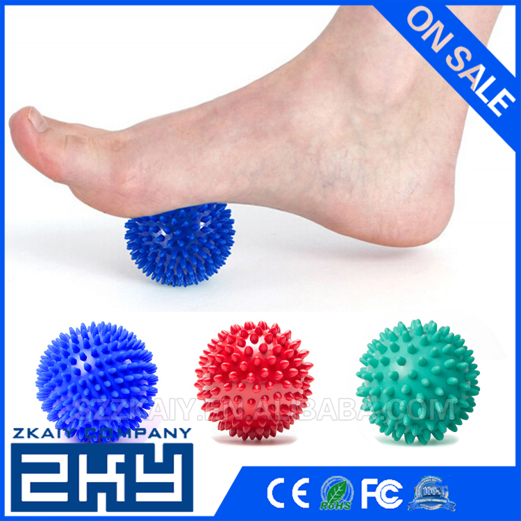 9cm Hand Foot Pain Relief Spiky Massage Ball Trigger Point Sport Fitness