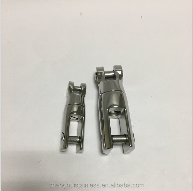 BOAT ANCHOR SWIVEL CONNECTOR - SUITS 6-8MM CHAIN 316 MARINE STAINLESS STEEL