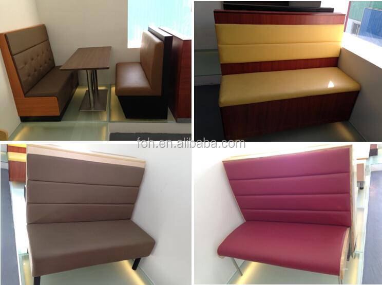 Green Restaurant Booth Designs (foh-cbck17) - Buy Restaurant Booth ...